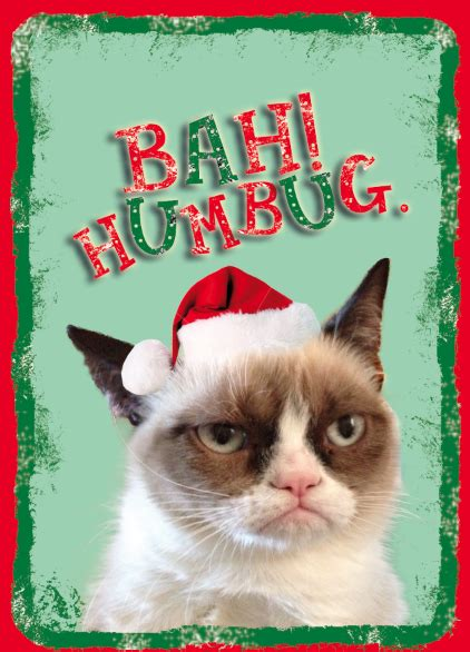 grumpy cat card template grumpy cat cards happy holidays