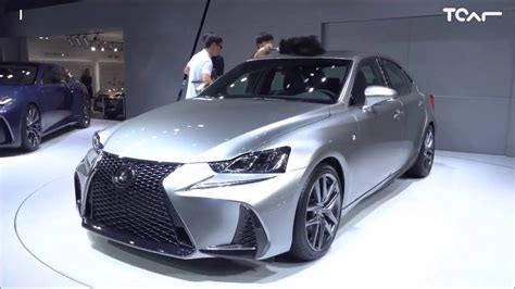 2017 lexus isf lexus is f sport 2017 facelift first glimpse youtube