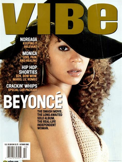 Beyonce On May Cover Of Vibe by The 20 Most Iconic Vibe Magazine Covers Of All Time
