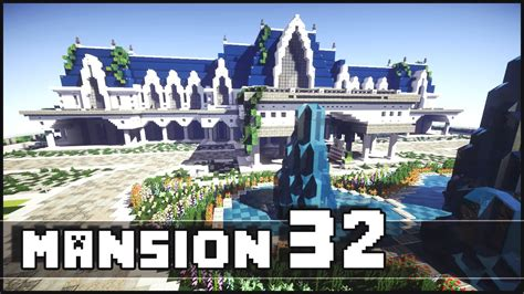 biggest house in minecraft minecraft biggest mansion of the server youtube