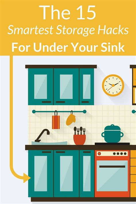 The 15 Smartest Storage Hacks For Under Your Sink Hometalk | the 15 smartest storage hacks for under your sink