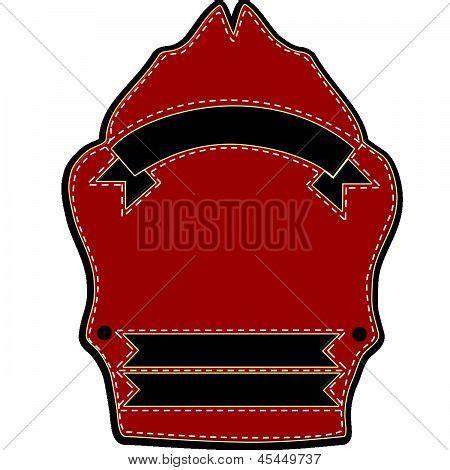 Classic Firefighters Parade Helmet Shield Image Cg8p53042c Helmet Shield Template