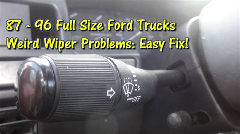 repair windshield wipe control 2009 ford f250 electronic toll collection service manual repair windshield wipe control 2006 ford f 350 super duty engine control