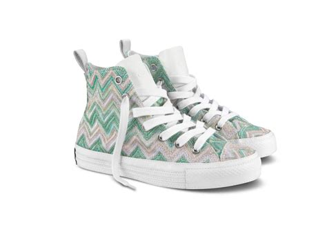zig zag sneakers converse missoni chuck zig zag green shoe sneaker