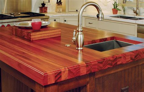 Best Wood For Countertop by Wood Countertops With Sinks And Areas J Aaron