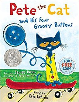 pete the cat and his four groovy buttons dean eric