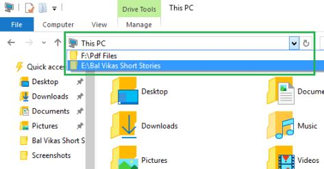 Explorer Address Bar Search How To Erase File Explorer Records In Windows 10