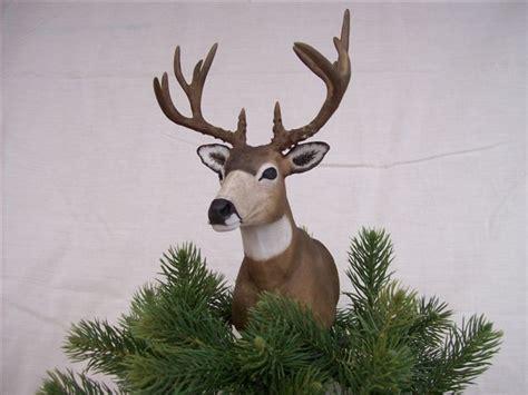 mule deer christmas tree topper