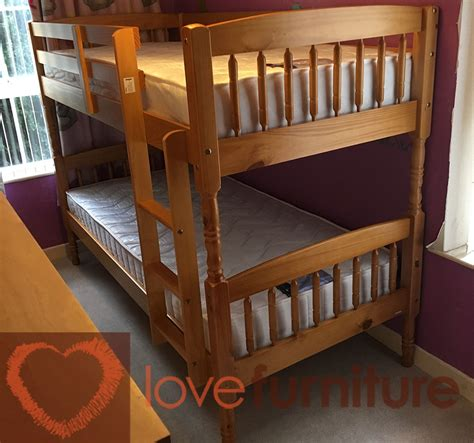 Albany Bunk Bed Antique Pine Antique Pine Bunk Beds