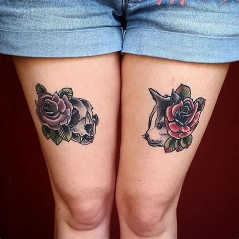 cat rose tattoo 50 glorious and design ideas that you