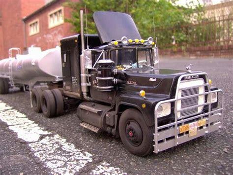 model semi trucks the rubber duck in plastic model form car truck