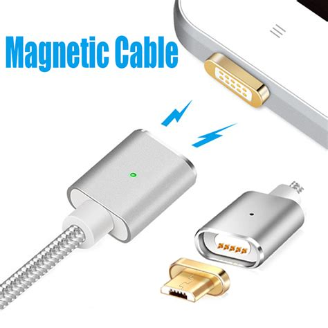 usb for sale magnetic braided usb cable 2 in 1 lightning micro