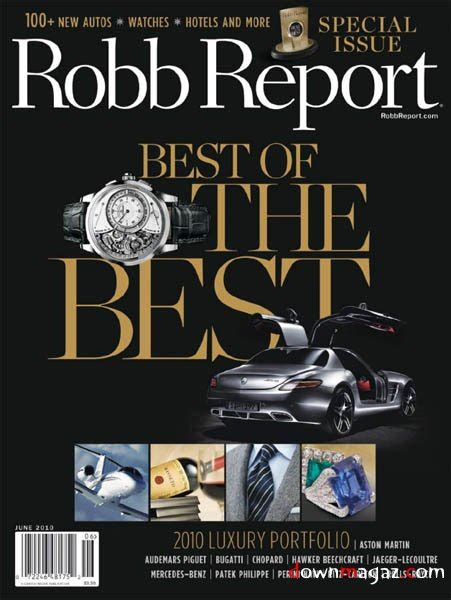 Robb Report Magazine by Robb Report June 2010 187 Pdf Magazines Magazines Commumity