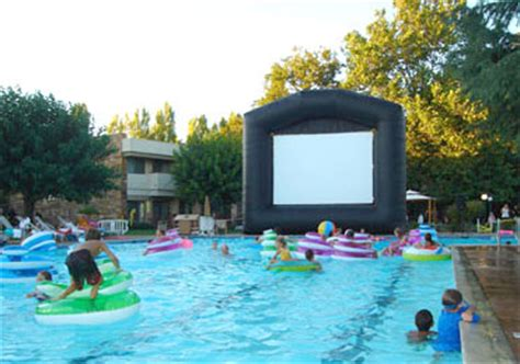 film semi pool inflatables make great fundraiser party jump rents