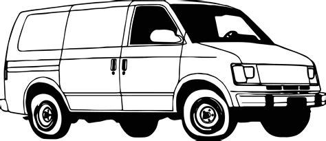 coloring page for van minibus van coloring page wecoloringpage