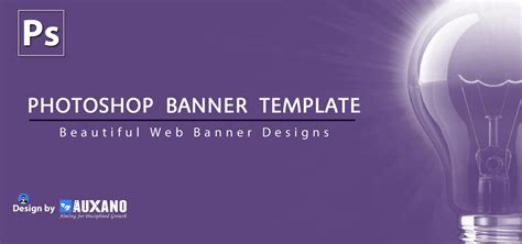 web design banners in psd photoshop banner website
