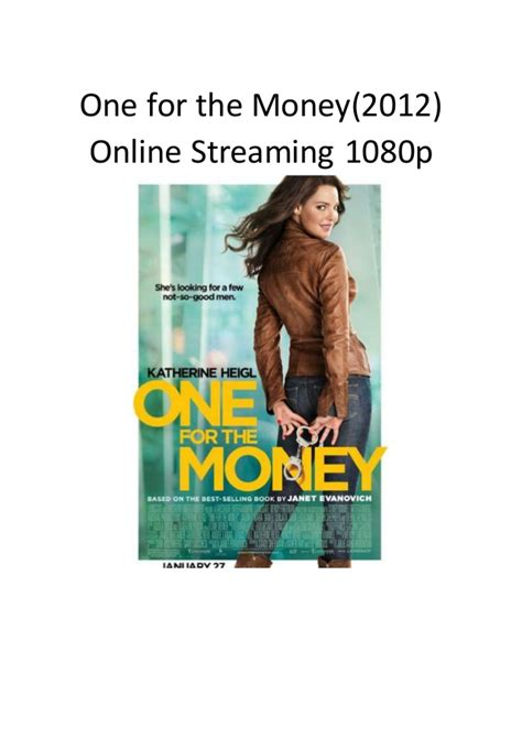 streaming film action comedy one for the money 20012 online streaming 1080p best