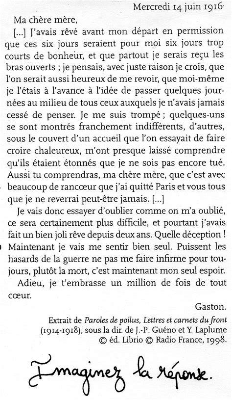 Présentation Lettre Devoir Français Devoirs Pour Les Vacances De La Toussaint Coll 232 Ge Alexandre Dumas