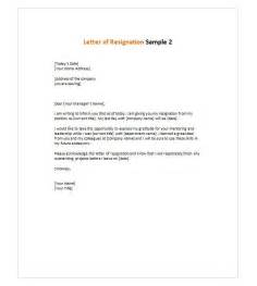 Resignation Email Letter Sle by Best 25 Resignation Letter Ideas On Letter Sle Resignation Sle And