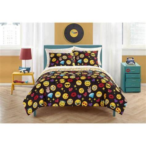 bed emoji emoji pals bed in a bag bedding set walmart com
