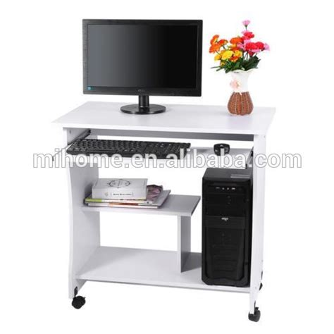 Curved Computer Desk Trolley by Pine Curved Computer Desk Trolley New Laptop Bedroom Study