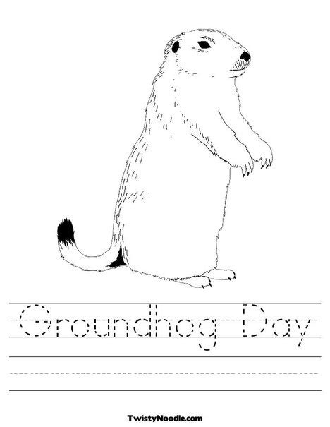 groundhog day budget new groundhog day coloring page from twistynoodle