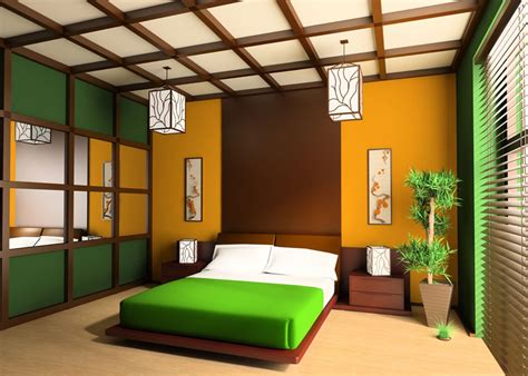 design interior green finest design modern green bedroom interior