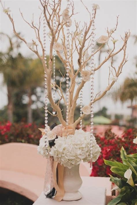 180 Best Branch Wedding Centerpieces Images On Pinterest Decorative Branches For Wedding Centerpieces