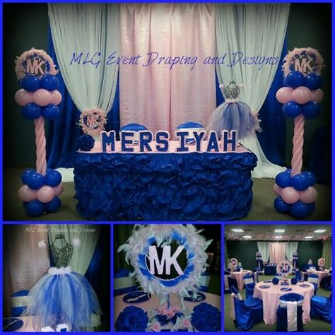 Michael Baby Shower Decorations 17 best images about decor by mlg event draping and designs on baby shower themes