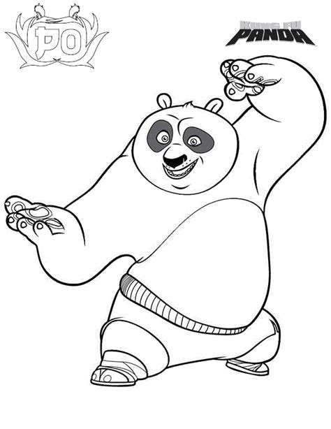kung fu panda coloring book pages free printable kung fu panda coloring pages for kids