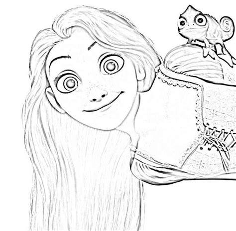 rapunzel face coloring page princess rapunzel coloring pages face az coloring pages