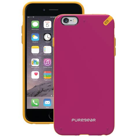gear 98945vrp iphone r 6 plus 6s plus slim shell sunset pink