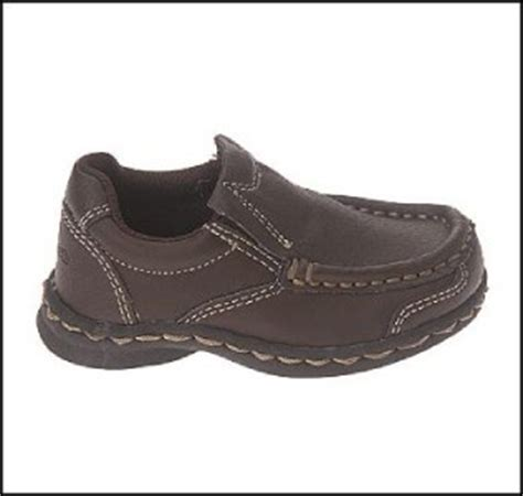 oshkosh toddler boys loafers dress shoes brown 7t new 7 ebay