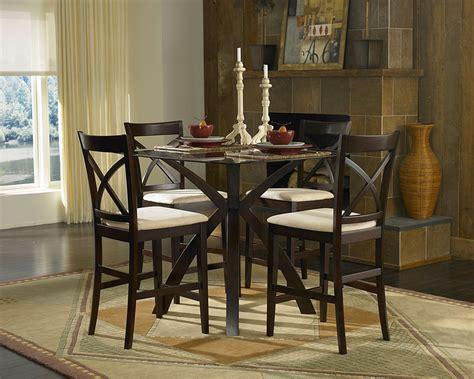 5 piece counter height dining set sophia 5 piece marble homelegance cantor 5 piece counter height dining set 5380