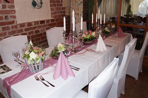 Tischdekoration Hochzeit Rosa by Hochzeiten Annemissima