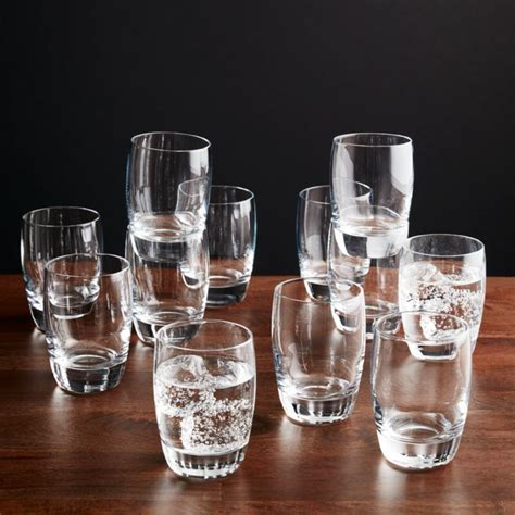 Otis Juice Glass Set of 12   Reviews   Crate and Barrel