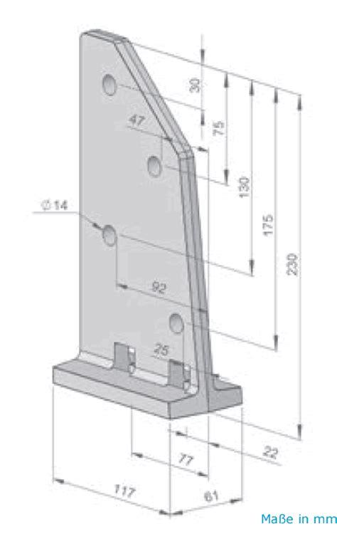 markise dachsparrenhalter dachsparrenhalter silber