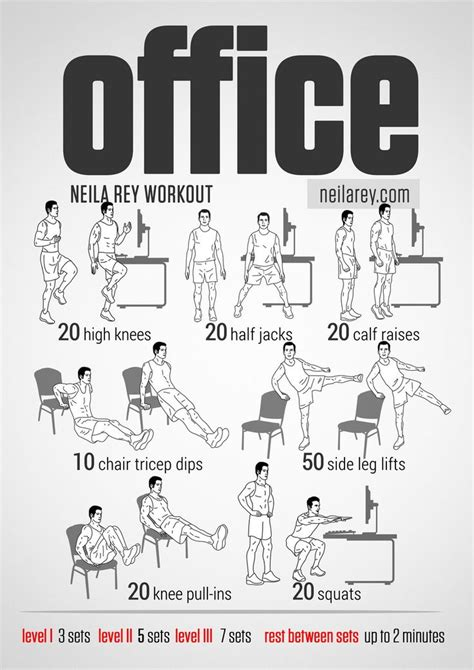 Desk Exercises For Abs by Office Workout Works Lower Abs Stability Calves