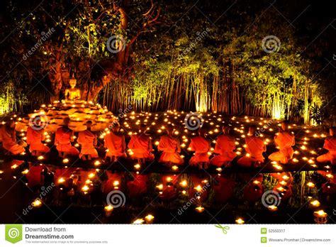 monk worshiping stock photo image 52550317