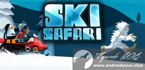 ski safari apk ski safari v1 5 1 mod apk para hileli