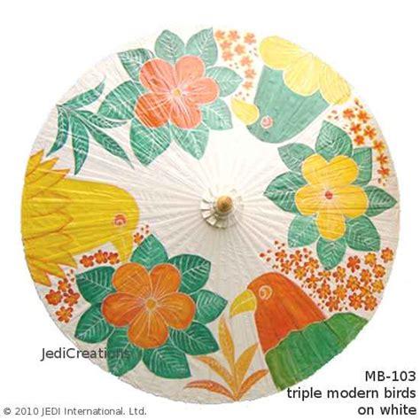 Forest Bird Design Folding Umbrella 75 design patterns for parasols sun and umbrellas manufacturer wholesale jedicreations