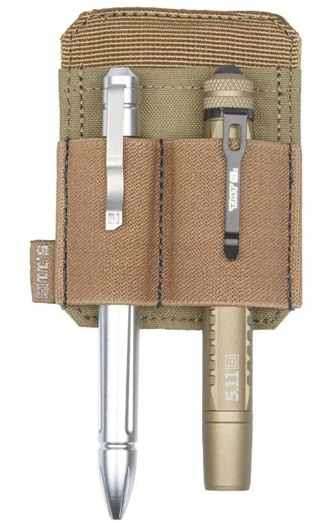 511 pen light 5 11 tactical pen or light holder hook back patch black