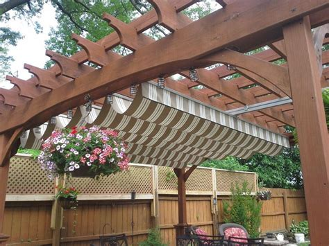 Pergola Roof Cover Materials And Options Pergola Design Pergola Roofing Options