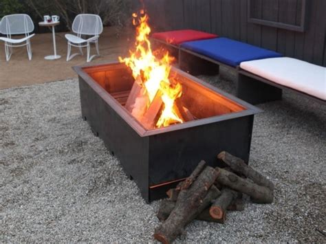 how to build a natural gas fire pit fire pit ideas