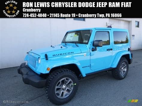 jeep chief color 2017 chief blue jeep wrangler rubicon 4x4 119384860 photo