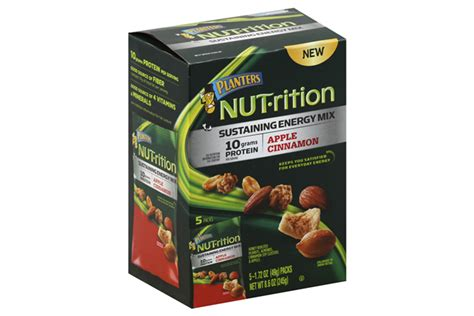 Planters Nut Rition Energy Mix by Planters Nut Rition Apple Cinnamon Sustaining Energy Mix 5