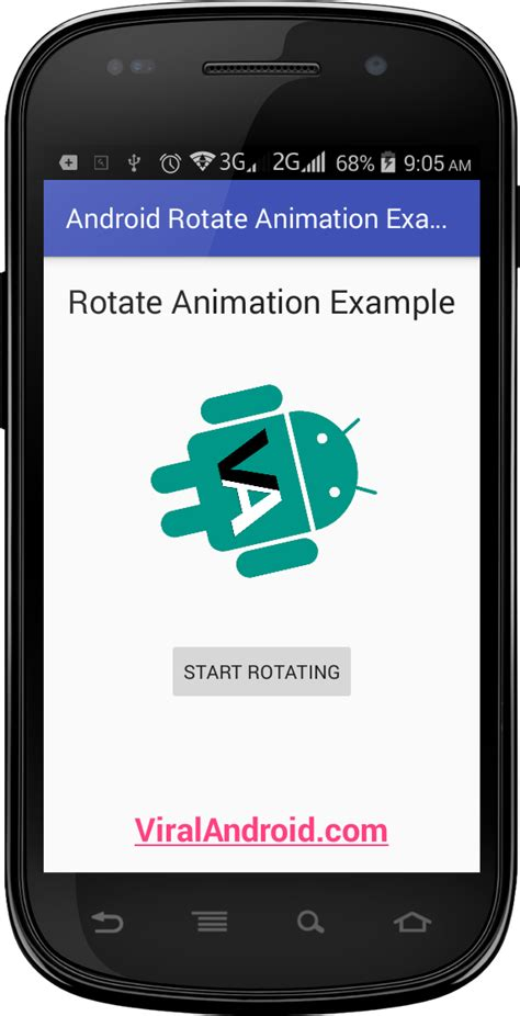 how to rotate a on android android rotate animation exle viral android tutorials exles ux ui design
