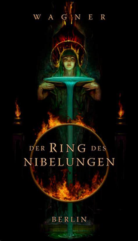 Der Ring Des Nibelungen moyer design illustration poster opera der