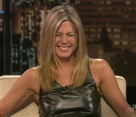 perky images jennifer aniston laughs about her perky nipples showing