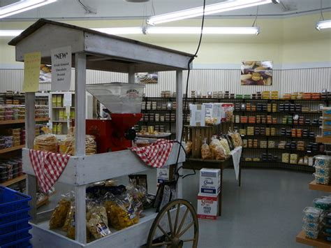 the pantry in amish section of farmer s market picture